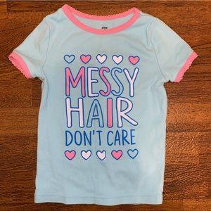 Sleepware Matching Set - Messy Hair Don't Care